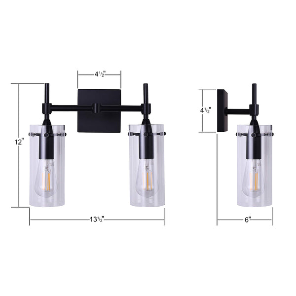 Effimero 2 Light Wall Sconce
