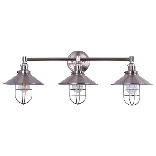 Marazzo Bathroom 3 Light Wall Sconce