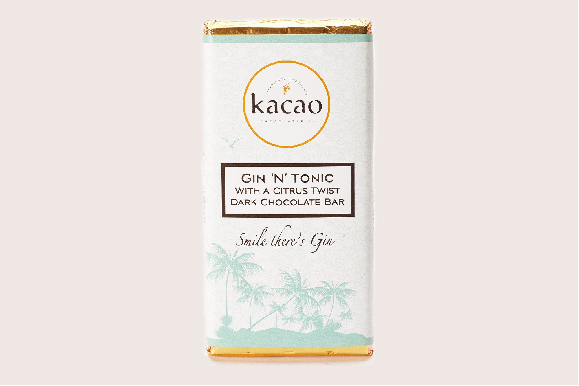 Gin 'N' Tonic Dark Chocolate Bar