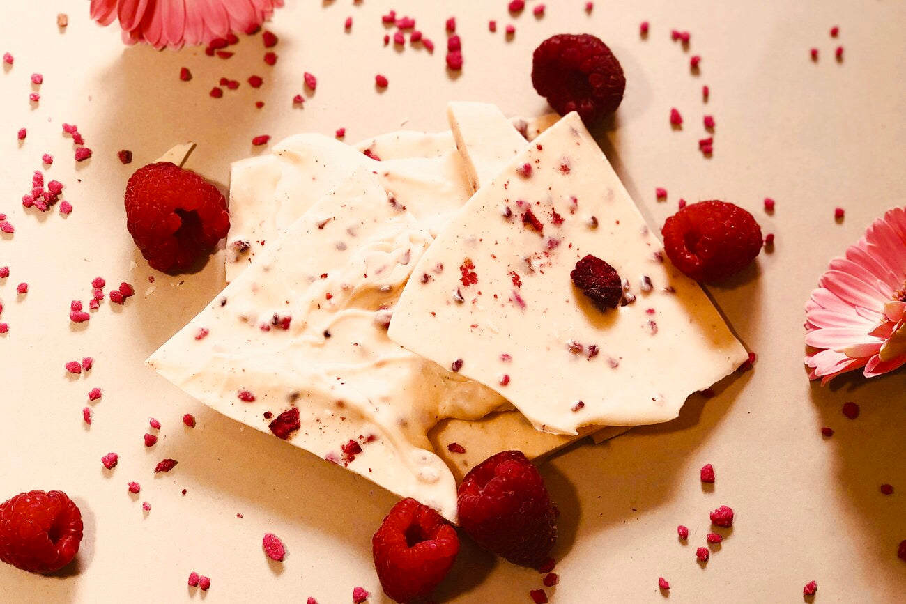Rose and Raspberry Thins
