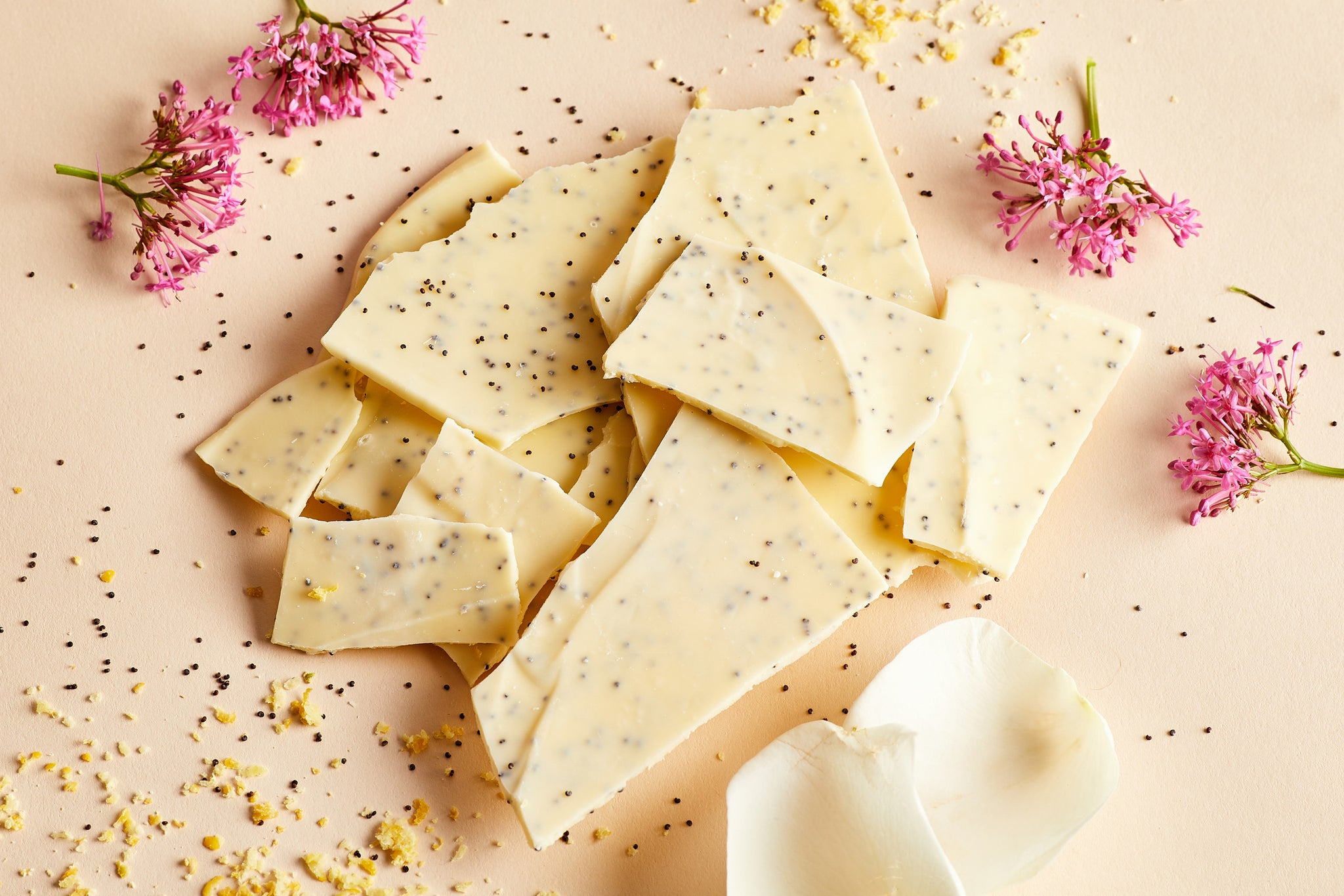 Lemon and Poppy Seed Thins