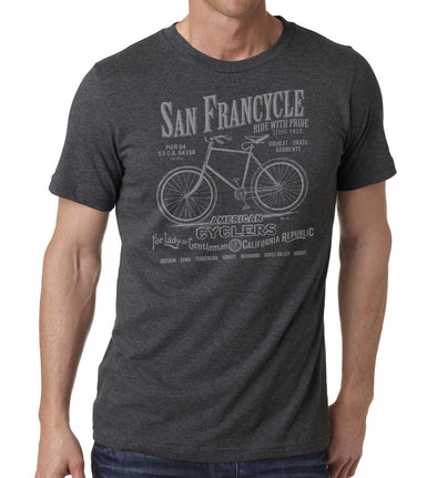 American Cyclers - SFCycle - bike t shirt 1