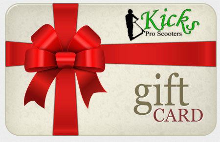 Online Gift Certificate - Kicks Pro Scooters