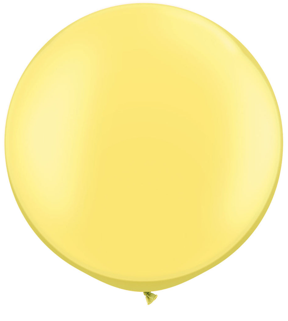 Peral Lemon Chiffon 3' Balloon