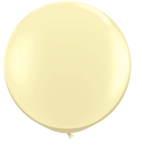 Pearl Ivory 3' Balloon