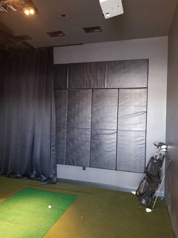 DIY Golf Simulator: Wall & Ceiling Protection | AK Athletic