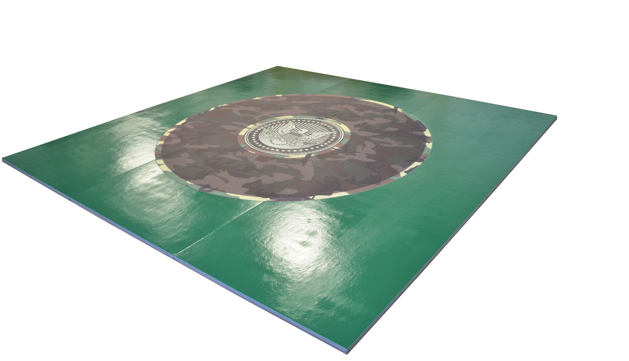 Add Your Logo Wrestling Mat