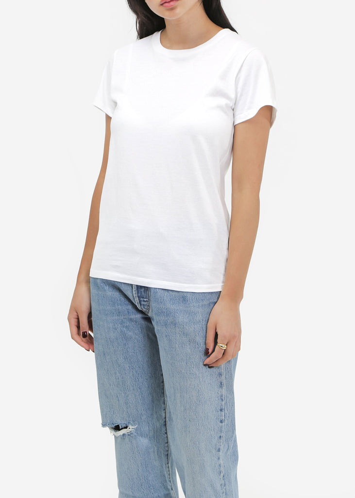 Off-White Cotton Tee Shirt