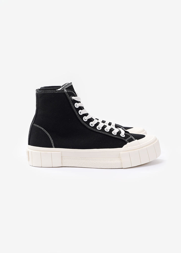 GOOD NEWS Black Bagger 2 Hi Sneakers — New Classics Studios