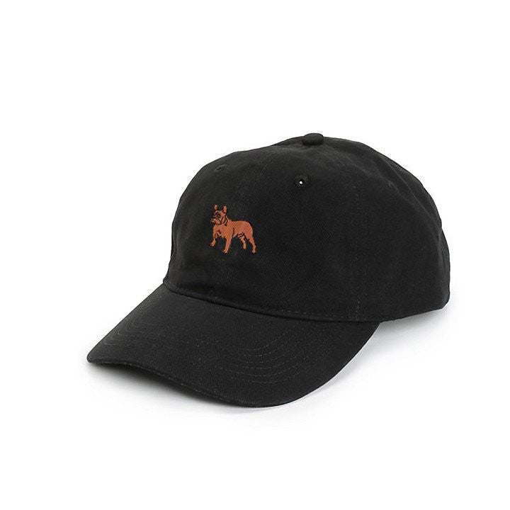 DOG LIMITED FRENCH BULLDOG DAD HAT black | PIPE AND ROW