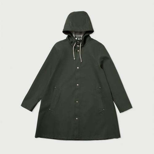 STUTTERHEIM MOSEBACKE RAIN JACKET GREEN | PIPE AND ROW