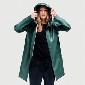 MOSEBACKE RAIN JACKET GREEN