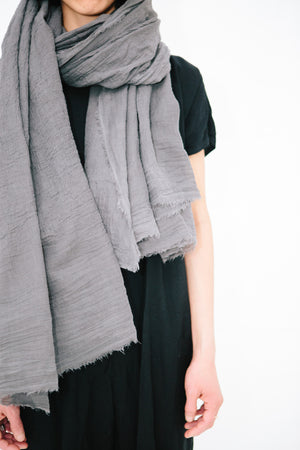 SCARF SHOP HAND DYED ORGANIC COTTON BLANKET SCARF | PIPE AND ROW seattle