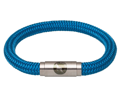 BOING Sailing Rope Wristband Bracelet: Middy SKY - Blue