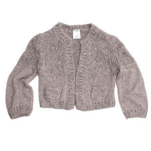 Find a beautiful Angora Cropped Cardigan from Chanel, authentic and preowned.