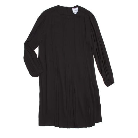 Find an authentic preowned Prada Black Silk Long Sleeve Dress size 42 (Italian) at BunnyJack, where up to 50% of each sale price is donated to charity.