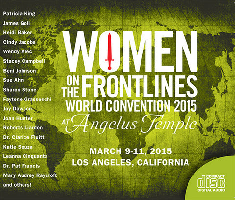 Women on the Frontlines 2015 World Convention - MP3 Teachings