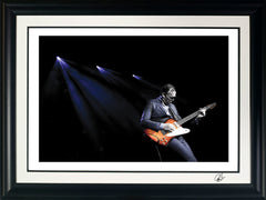 "#26 "" '64 Firebird III "" JOE BONAMASSA Collectible Litho (FRAMED - USA ONLY)"