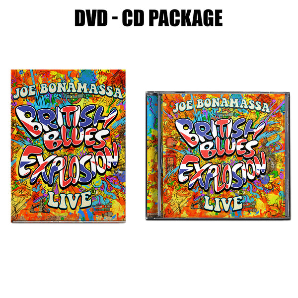 British Blues Explosion Live  CD & DVD Package