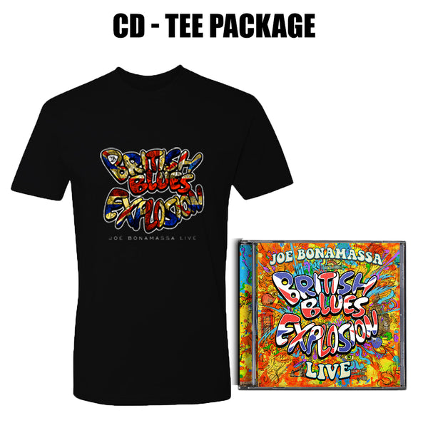 British Blues Explosion Live CD & T-Shirt Package