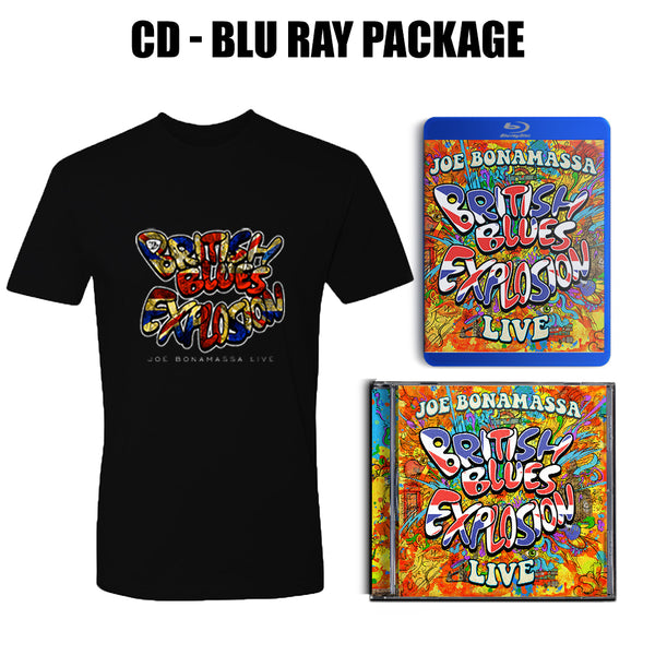 British Blues Explosion Live CD & Blu-ray + T-Shirt Package