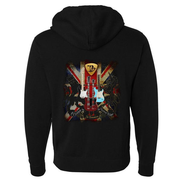 A Salute to the British Blues Zip-Up Hoodie (Unisex)