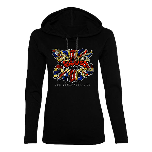 British Blues Explosion Live Hooded Long Sleeve (Women)
