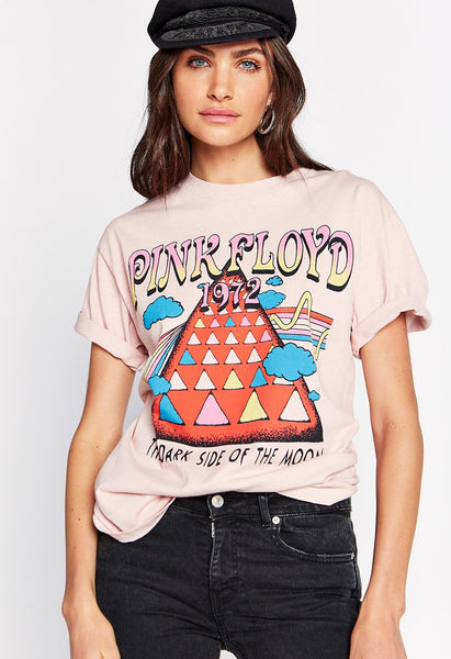 Pink Floyd 1972 Oversized T-Shirt - Blush