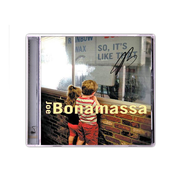 Joe Bonamassa: So It's Like That (CD) (Released: 2002) - Hand-Signed