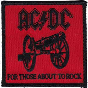 AC/DC 'For those About to Rock' Patch - DeadRockers