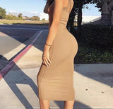 Khloe Sinem Midi Dress