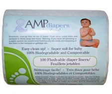 AMP Flushable Liners