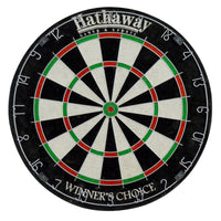 Winners Choice 18-in Sisal Fiber Bristle Dartboard