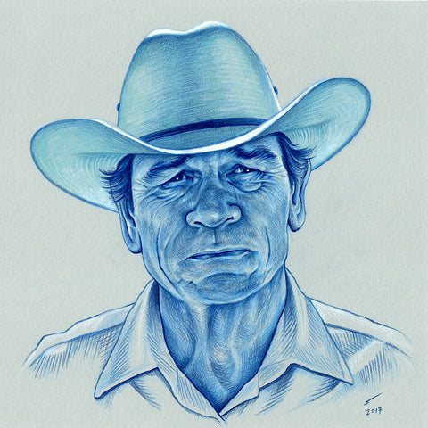 Ed Tom Bell ( Tommy Lee Jones)