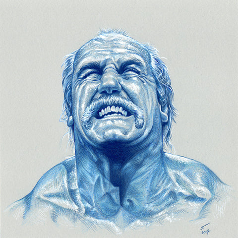 Hulk Hogan (original artwork)