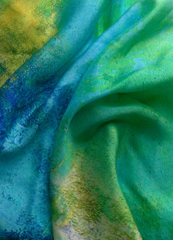 """Ocean Glory"" Square Scarf"