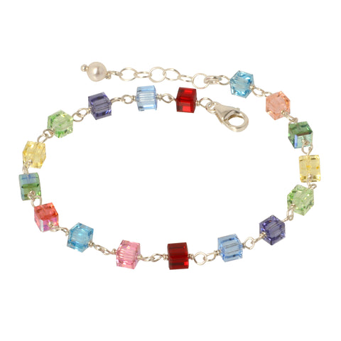 Colors of Life Crystal Bracelet