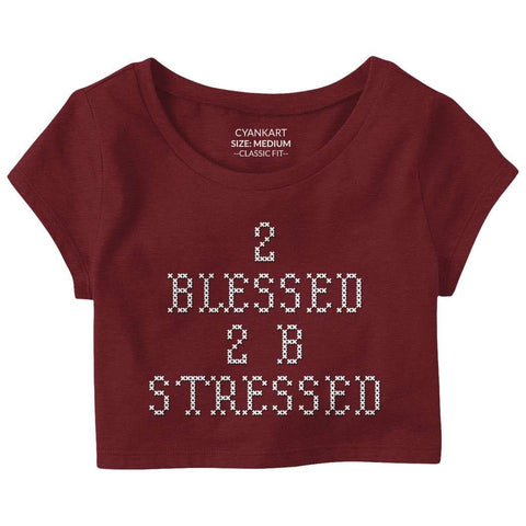 2 Blessed Crop Top