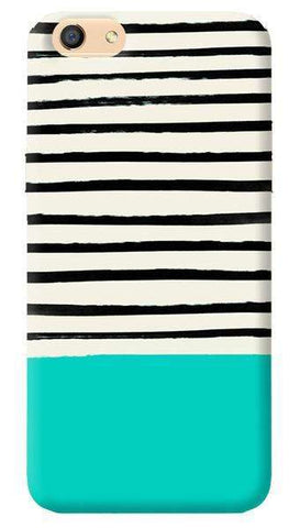 Aqua Stripes Oppo F1s Case