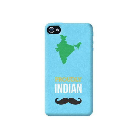 Proudly Indian Apple iPhone 4/4S Case