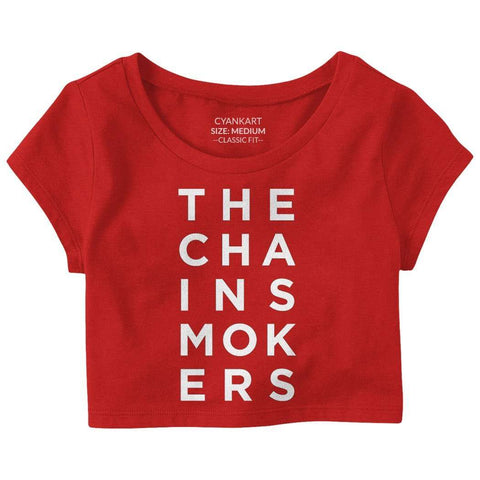 The Chainsmokers Crop Top