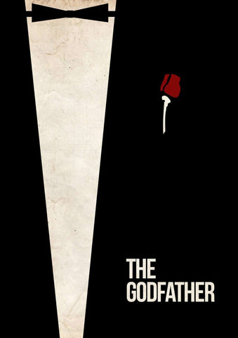 The Godfather Minimal Poster