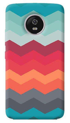 Triple Chevron Motorola Moto G5 Plus Case
