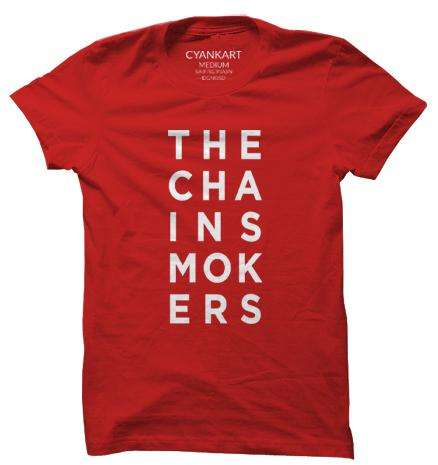 The Chainsmokers XXXL T-Shirt
