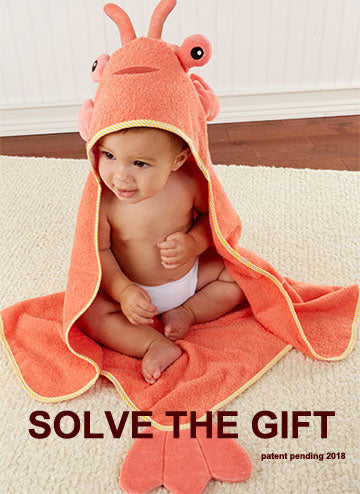"""Solve the Gift"" Babies Lobster Towel Puzzle"