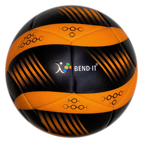 Bend-It Soccer, Curl-It Pro Amber, Soccer Ball Size 5, Match Ball
