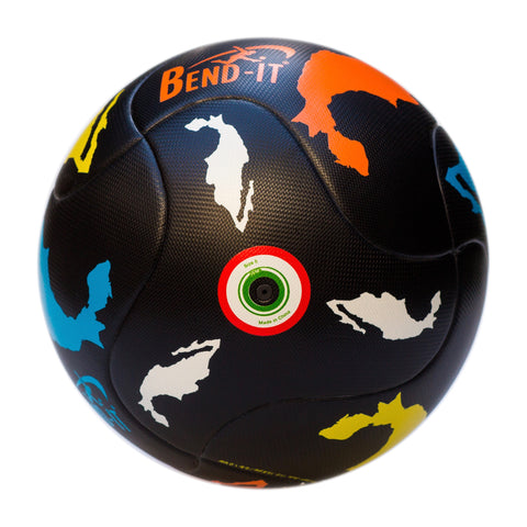 Bend-It Soccer, Mexican Classic, Soccer Ball Size 5, Match Ball