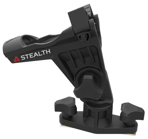 Stealth QR-2 with Kayak Rail Mount