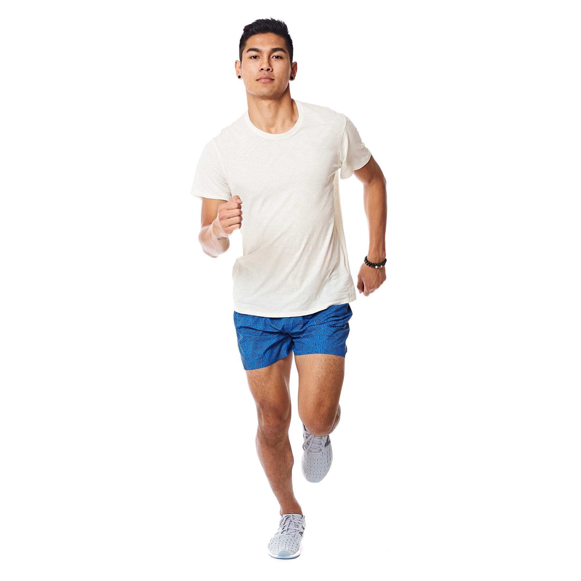 M's Runpaca Short Sleeve in Moonlight