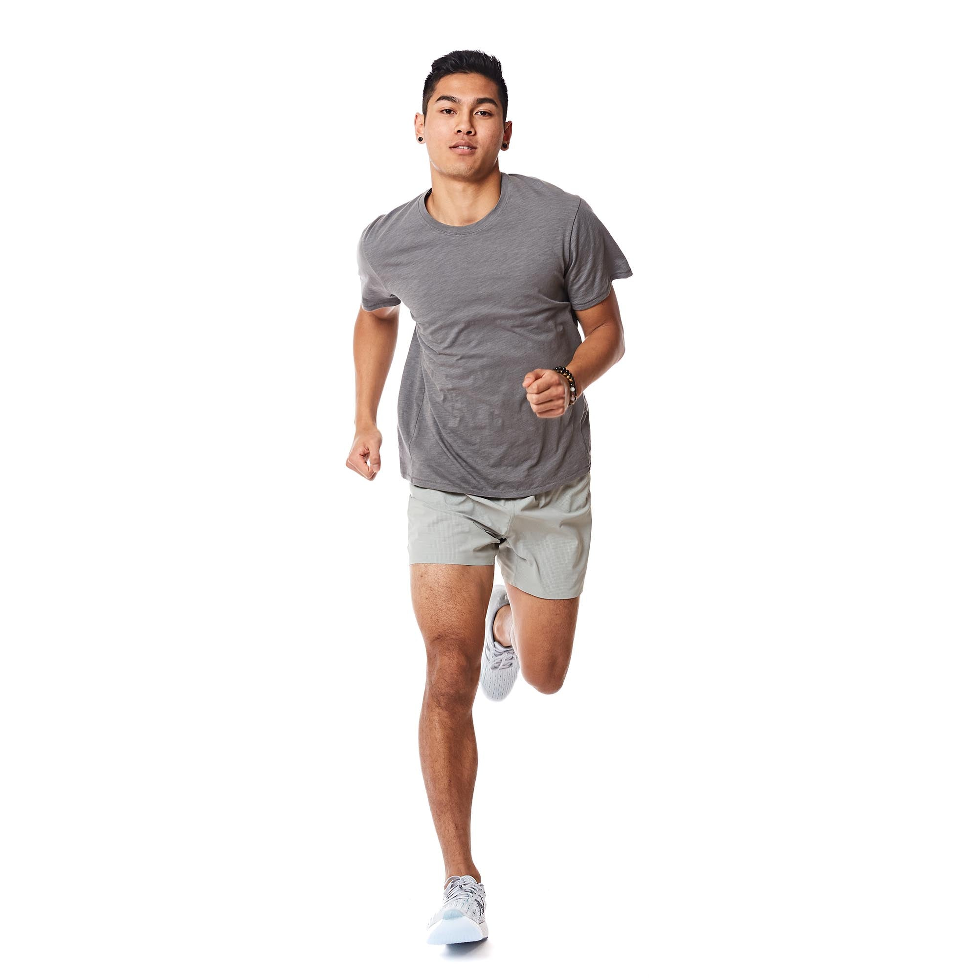 M's Runpaca Short Sleeve in Weathered Stone